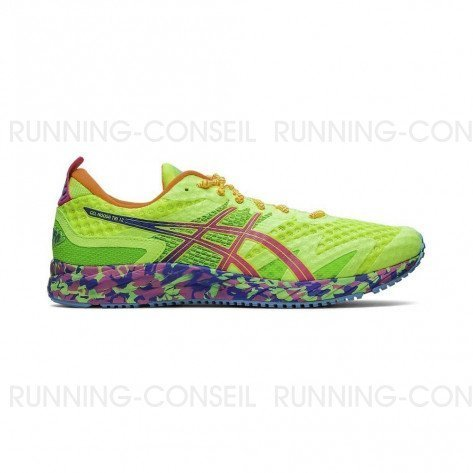 ASICS GEL-NOOSA TRI™ 12 - HOMME - SAFETY YELLOW / HOT PINK