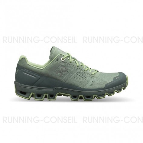 ON RUNNING CLOUDVENTURE FEMME | MOSS/OLIVE Profil