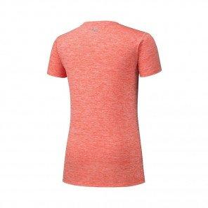 MIZUNO Tee-Shirt manches courtes IMPULSE CORE Femme | Hot Coral