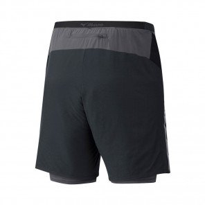 MIZUNO Short Trail 2en1 ENDURA 7.5 Homme | Black