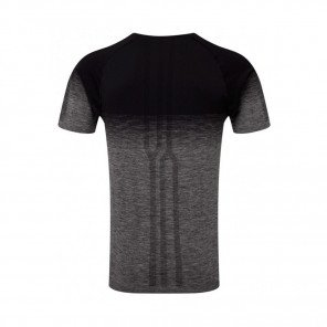 RONHILL Tee-Shirt manches courtes MARATHON INFINITY Homme | Black/Grey Marl