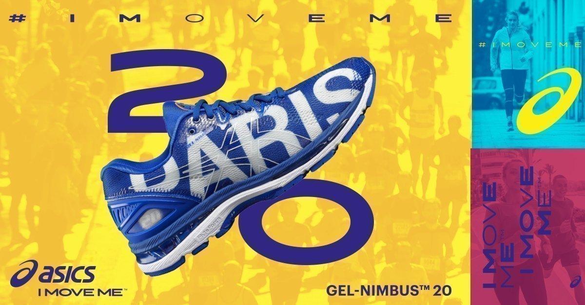 Asics Gel Nimbus 20 PARIS